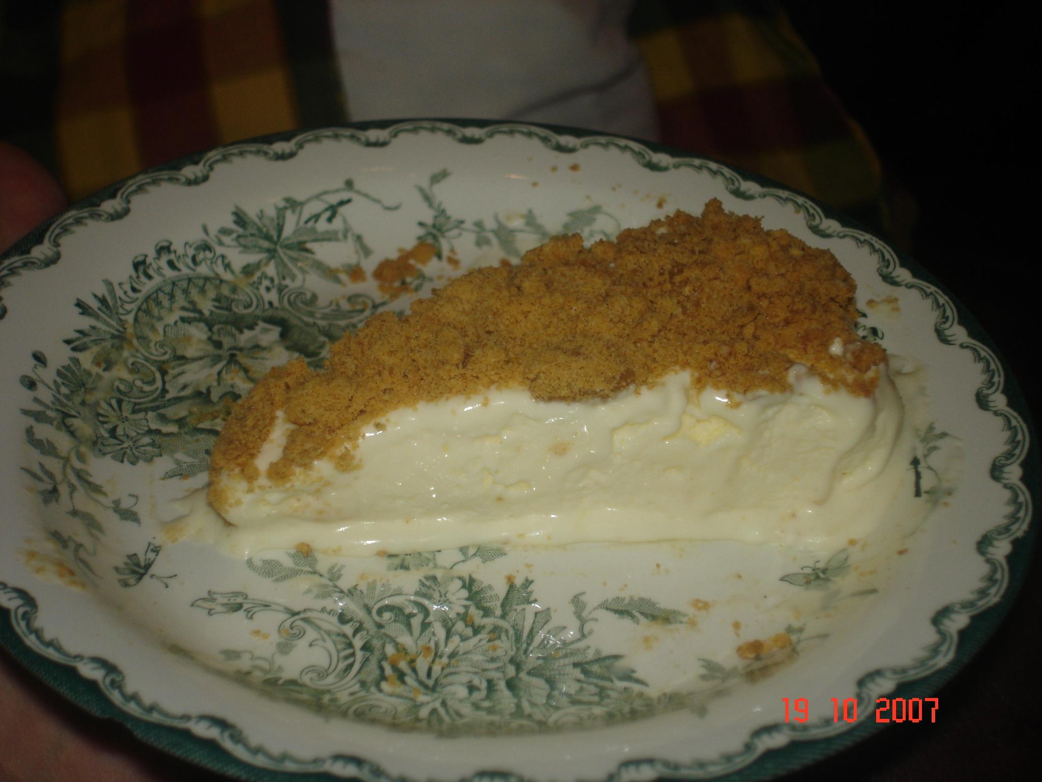 Chezz cake eller cheesecake frozen