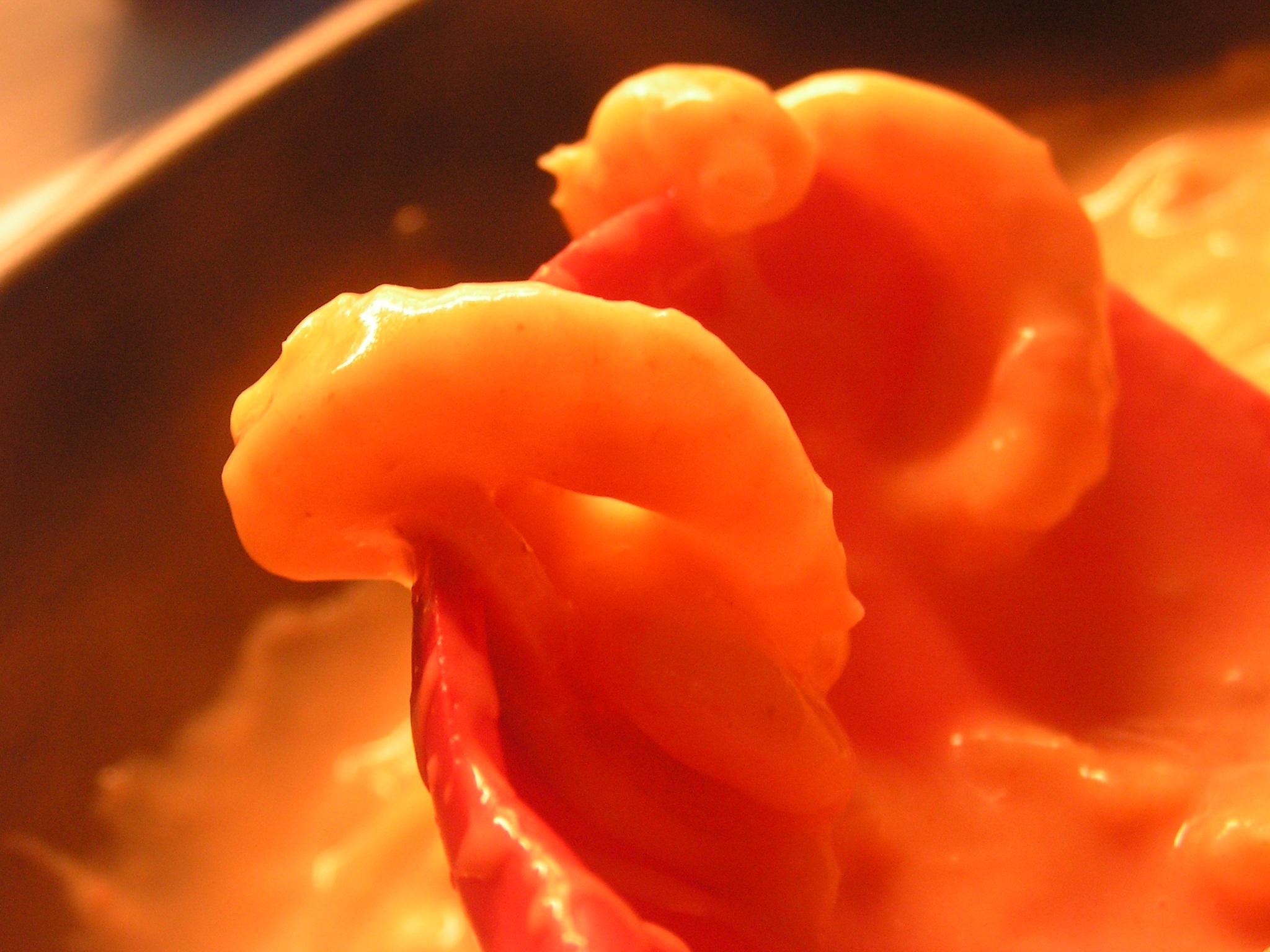 Mexikansk räksås till pasta
