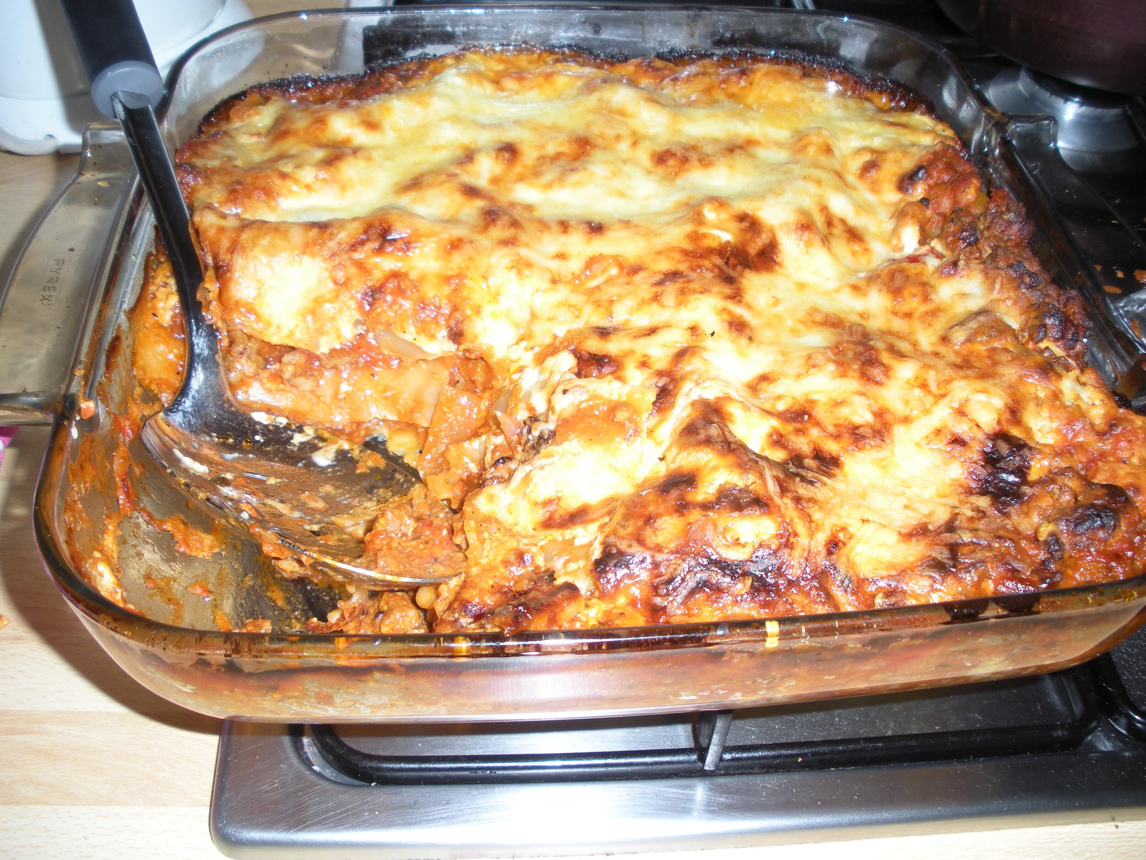 viktväktar lasagne