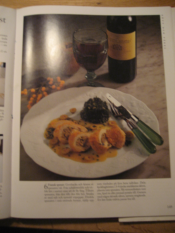 Vermouthbräserat olivkycklinbröst