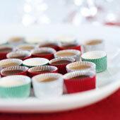 Ischoklad med mörk eller vit choklad