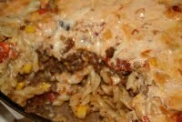 taco och pastagratäng