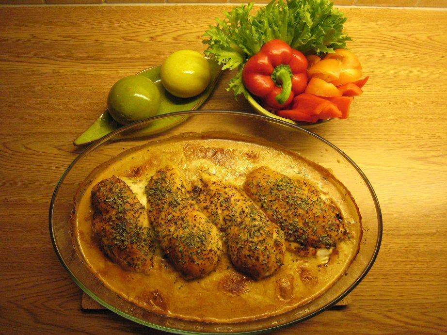 Kyckling med äd..