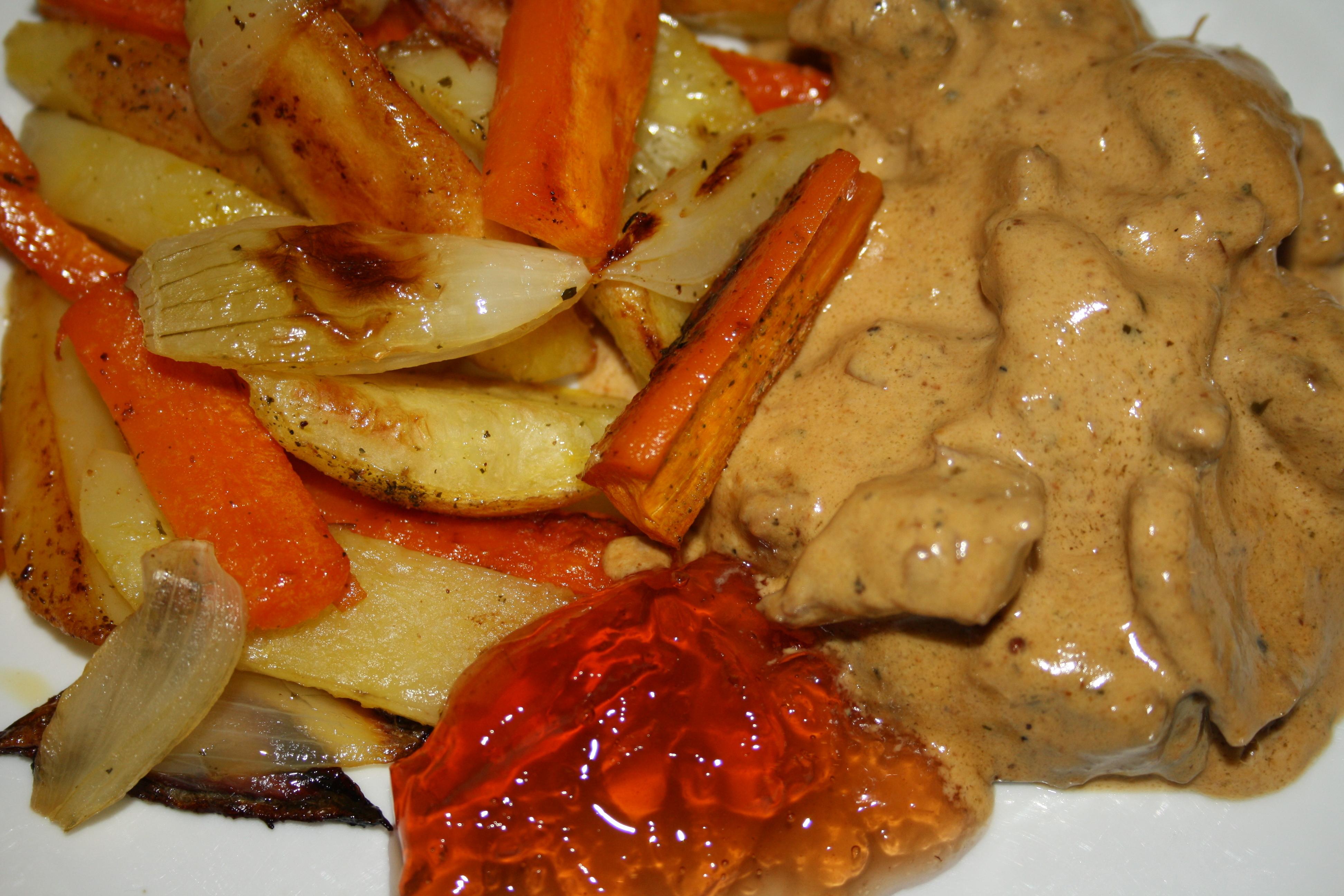 älg kalv stek