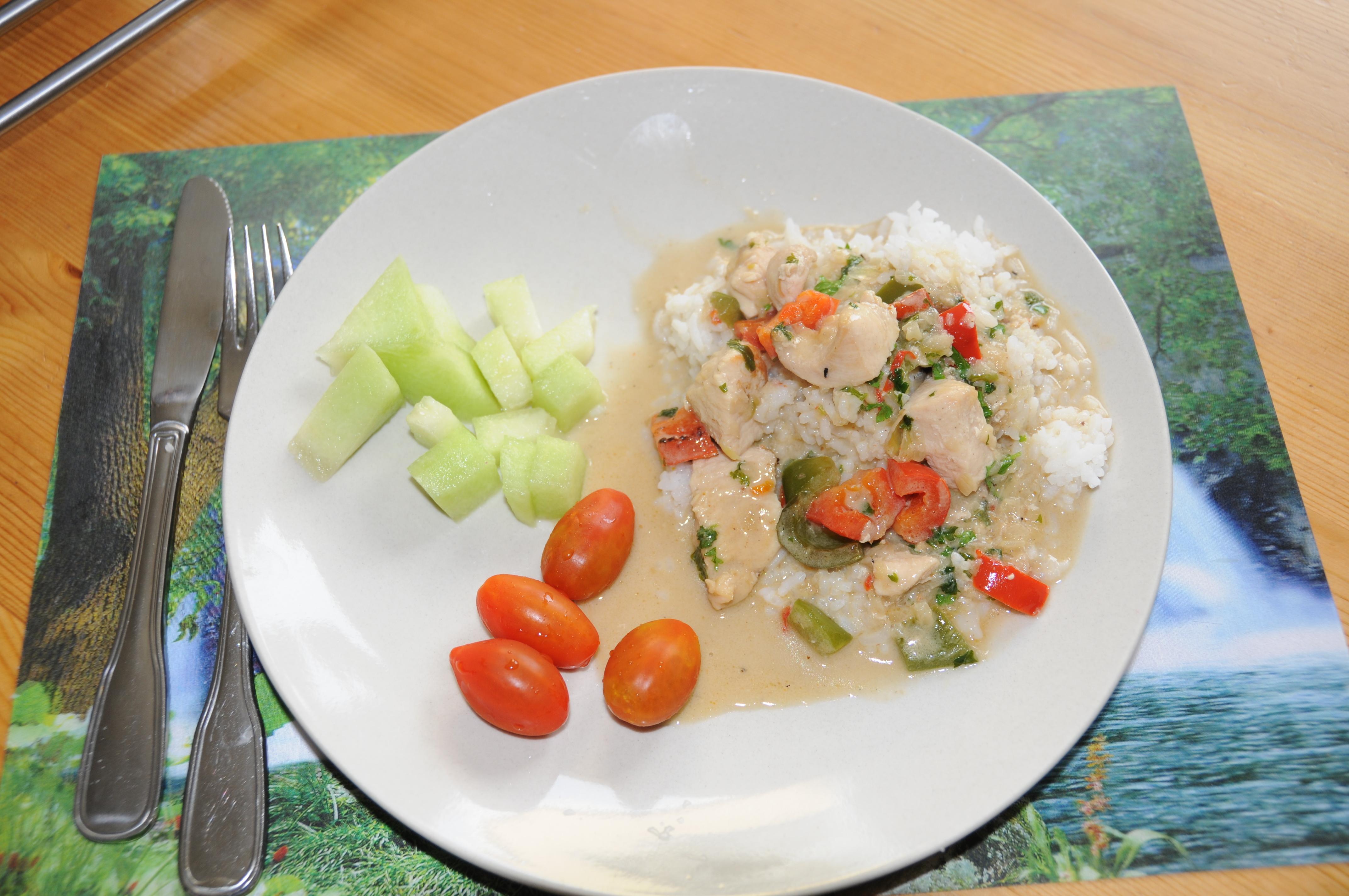 Snabb gryta med  thailänsk smak