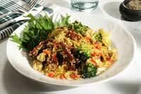 Överraskningssallad med couscous