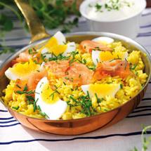 Curryris med rö..