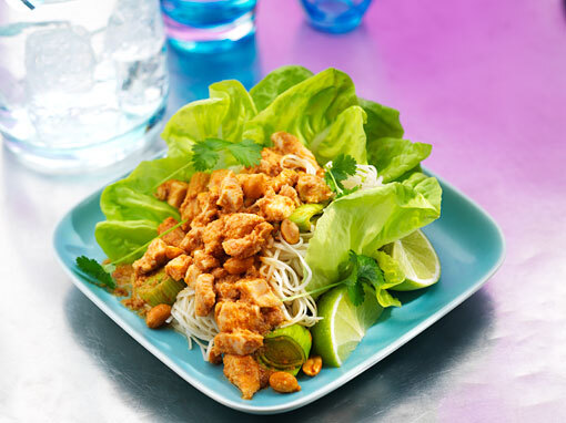 Thai satay kyckling