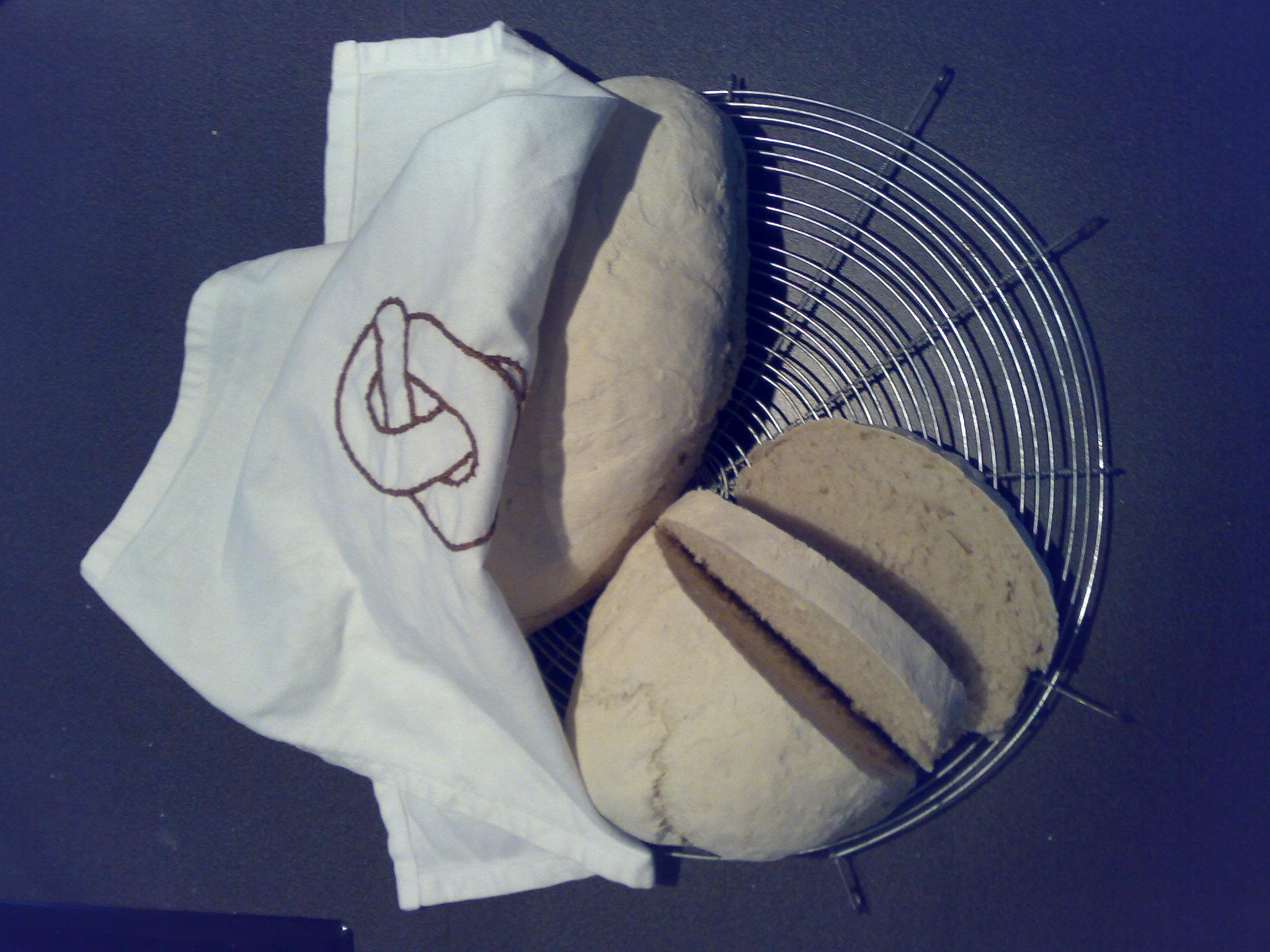 Enkelt bröd på ..