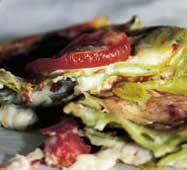 salami lasagne