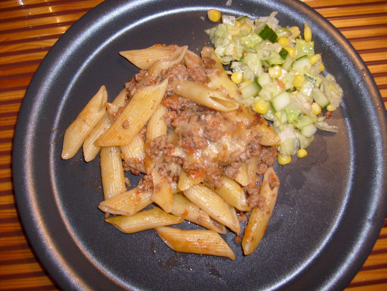 Köttfärspasta