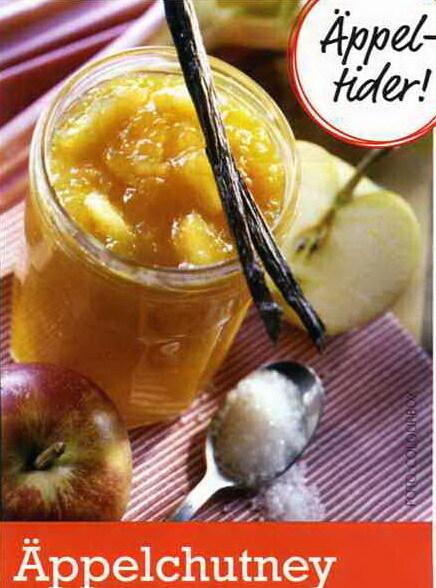 Äppelchutney