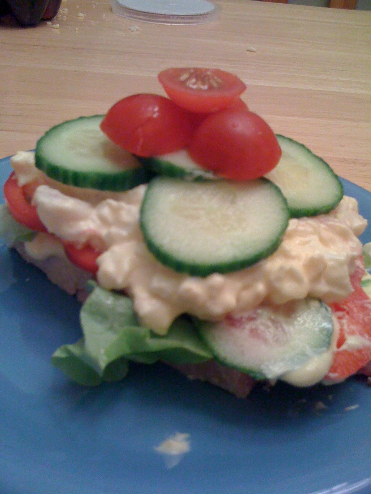 Smörgåstårta à la LCHF