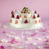 Tårta prinsesslott
