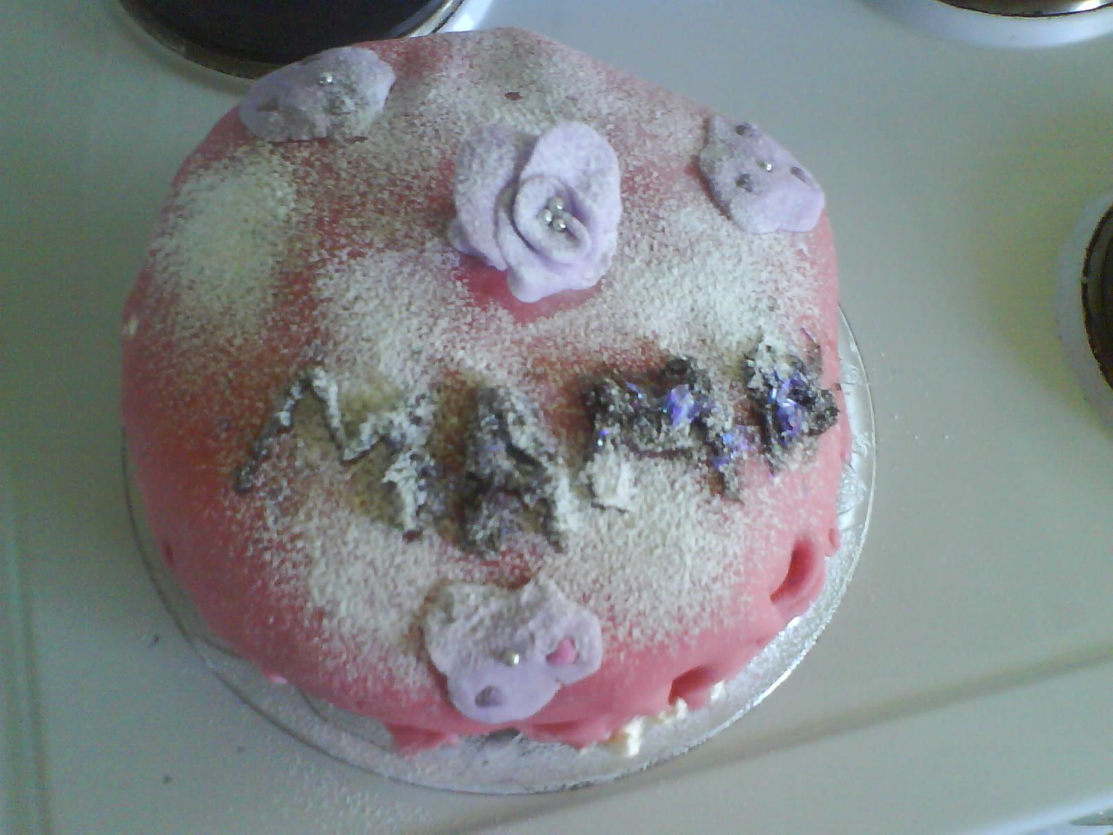 Sandras Morsdags tårta