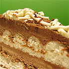 frusen mintchokladtårta