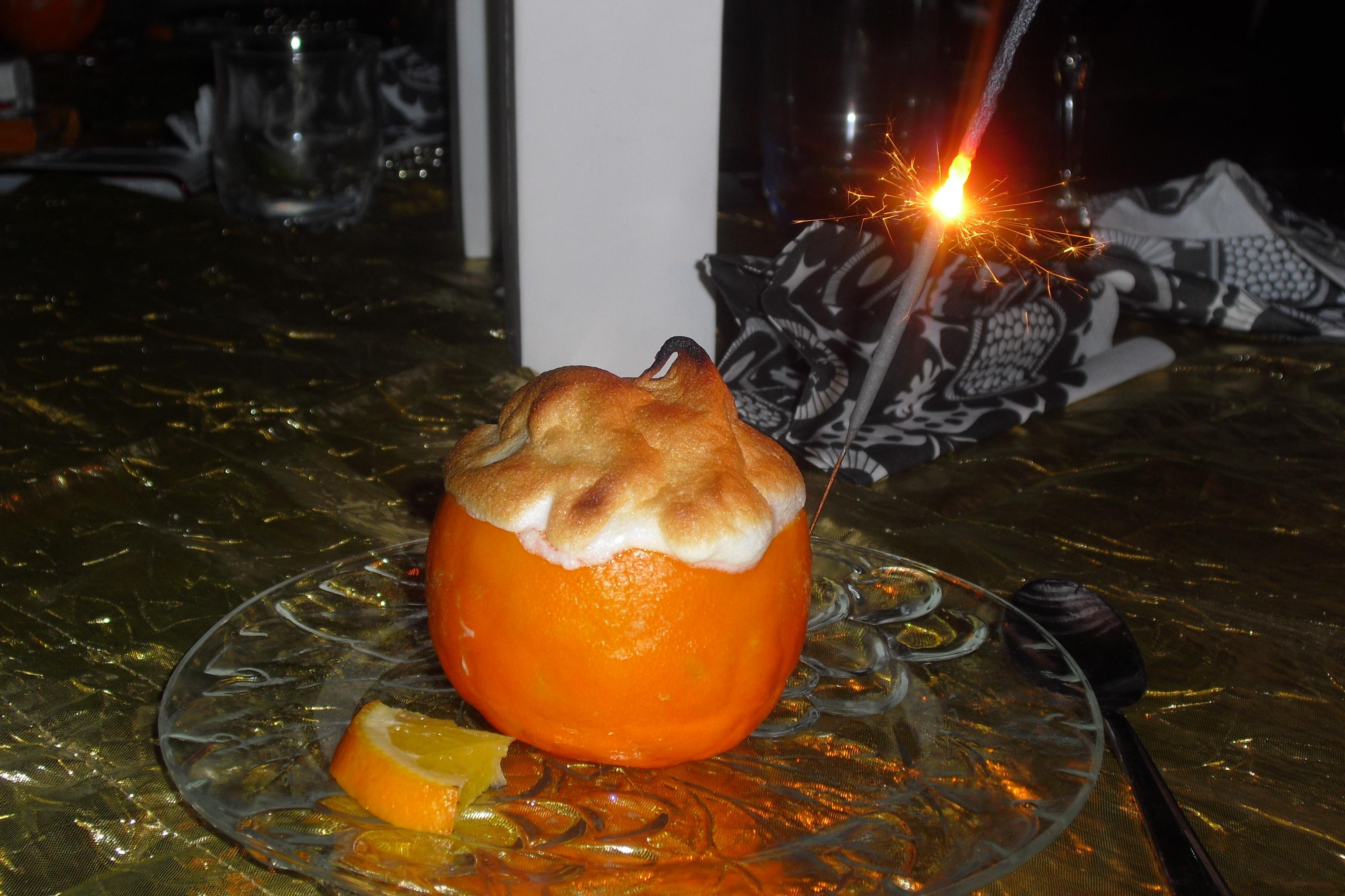 Mar�nggratinerad apelsin