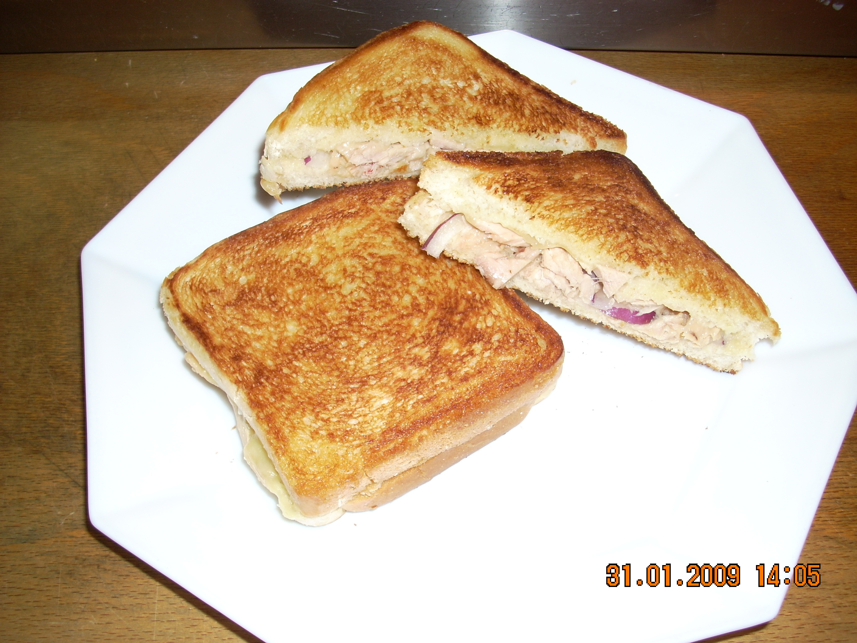Stekt tonfiskmacka