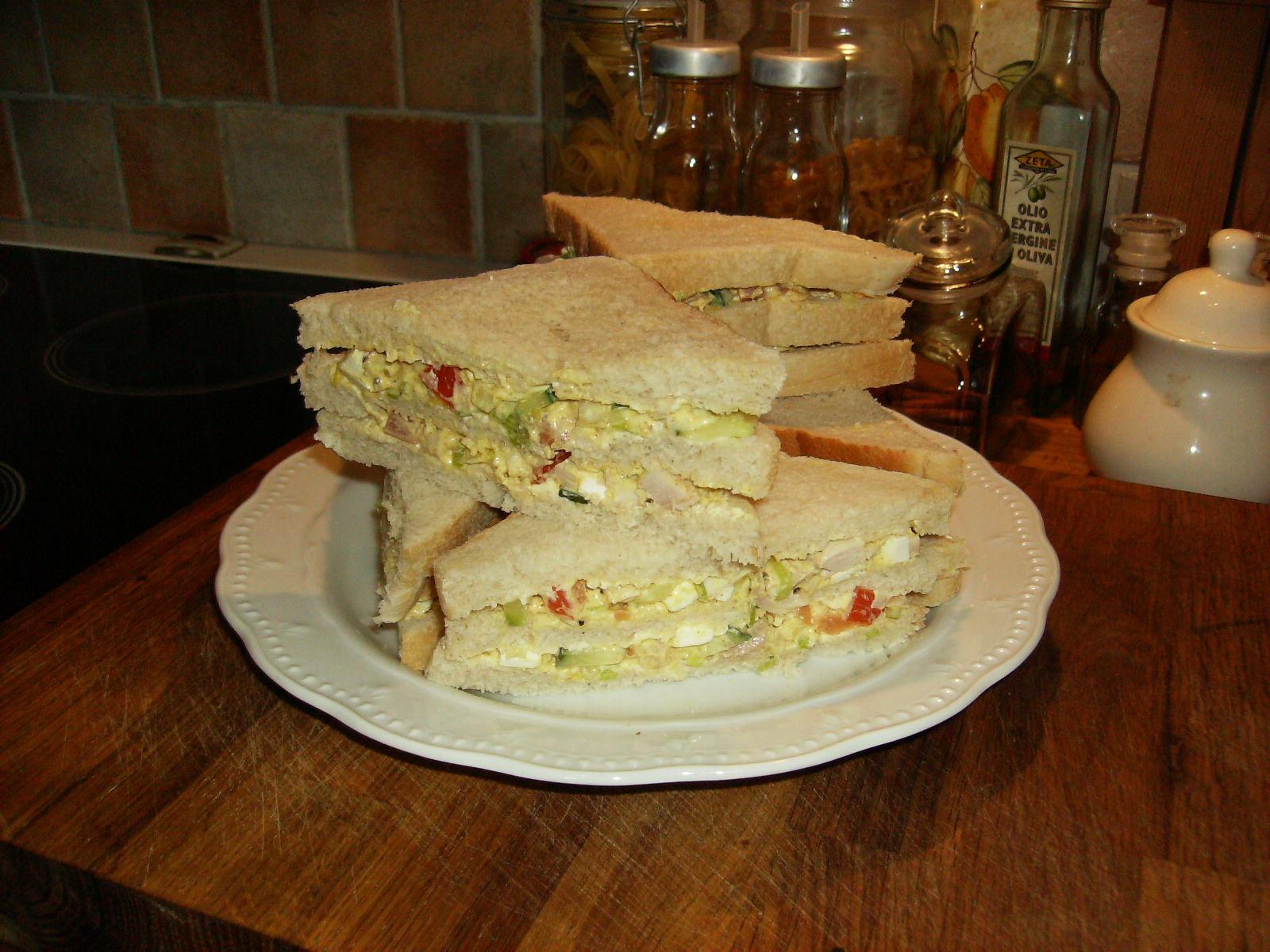 Maya´s Kyckling sandwich