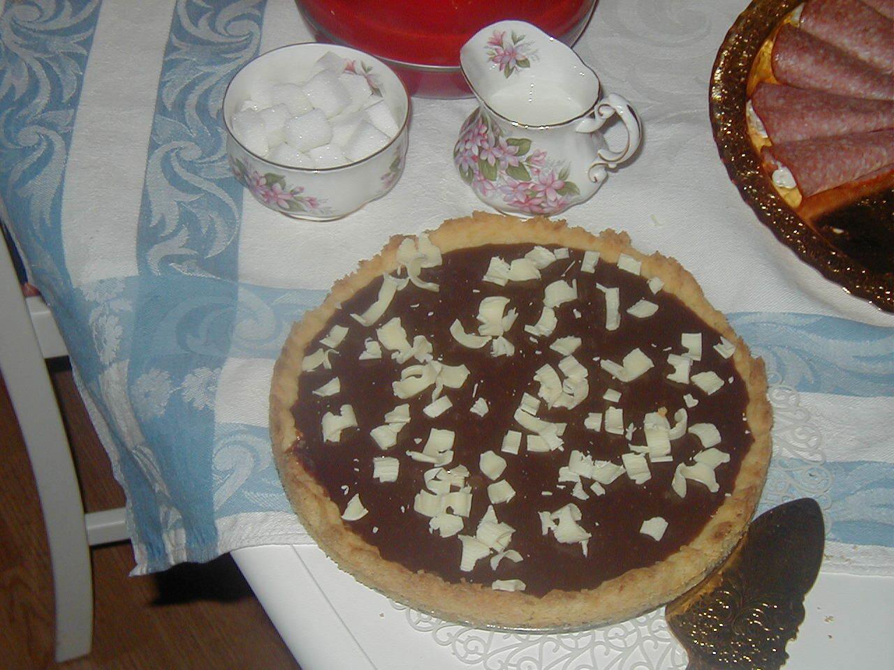kolapaj med vit choklad