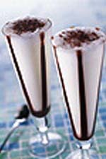 Randig milkshake