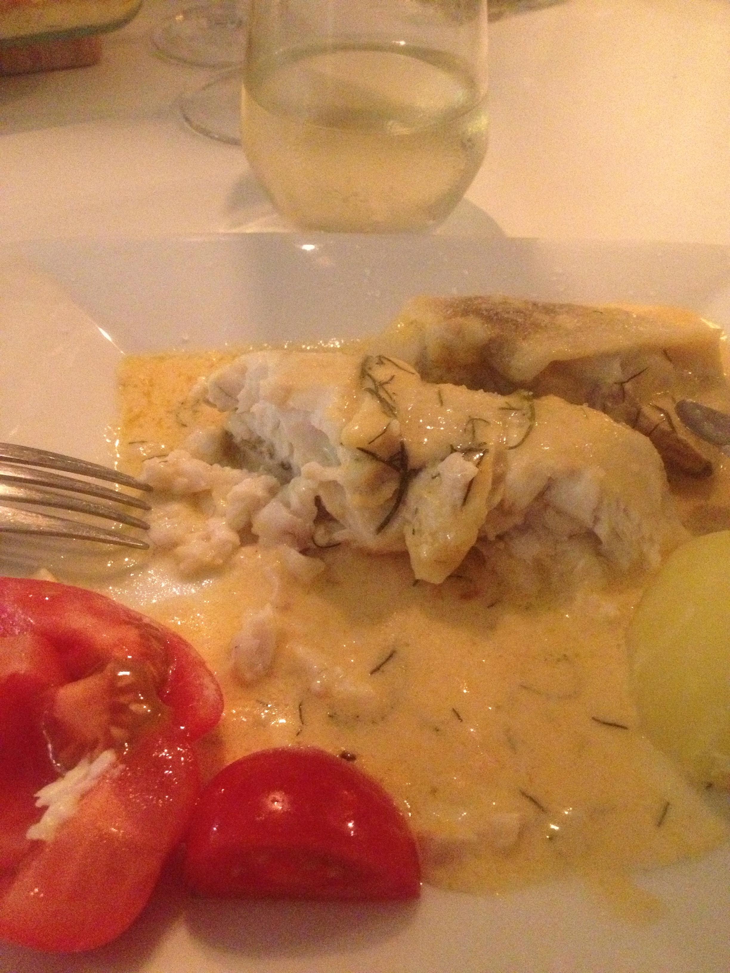 Plattfisk i ugn a la Liis & Lars (gluten- och laktosfri)