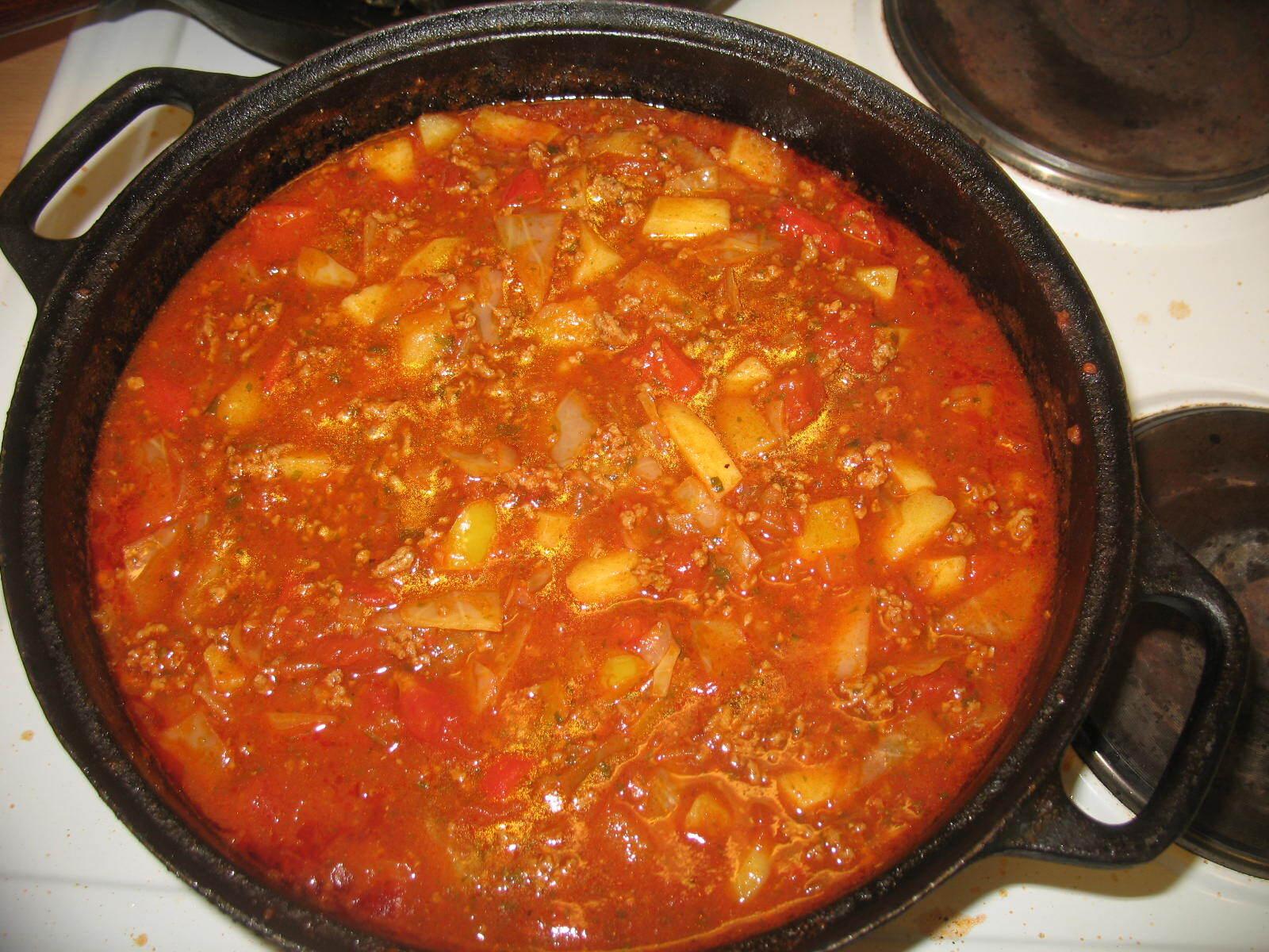 ungersk gulaschsoppa i tryckkokare
