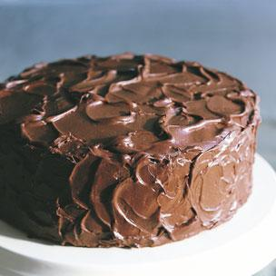 black devils food cake