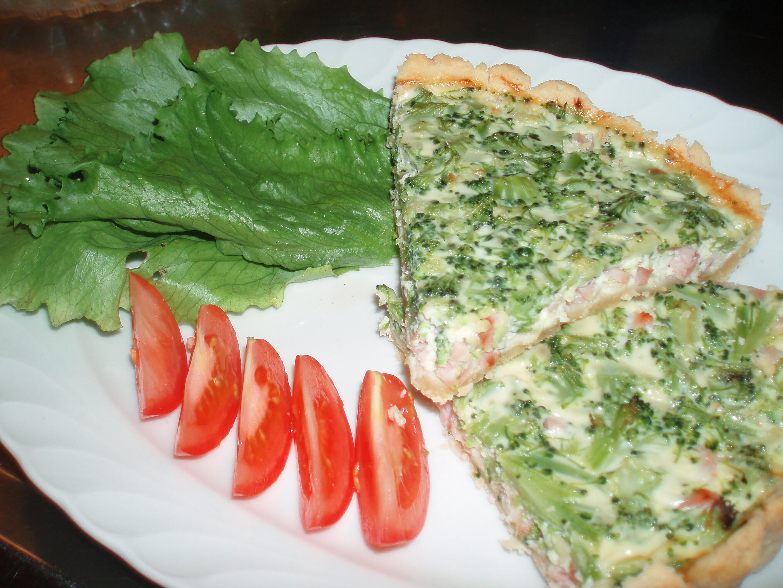 sandras skink och broccolipaj