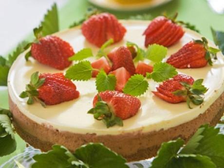 jordgubbscheesecake philadelphiaost
