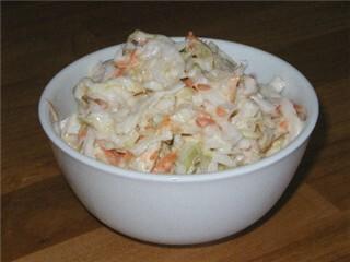 Amerikansk Coleslaw (kålsallad)