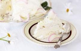Glasstårta med ..