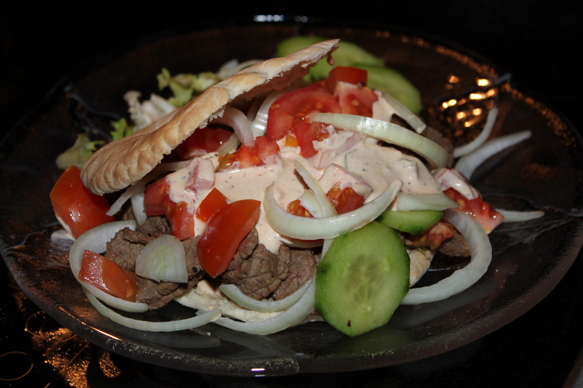hemmagjord kebabsås