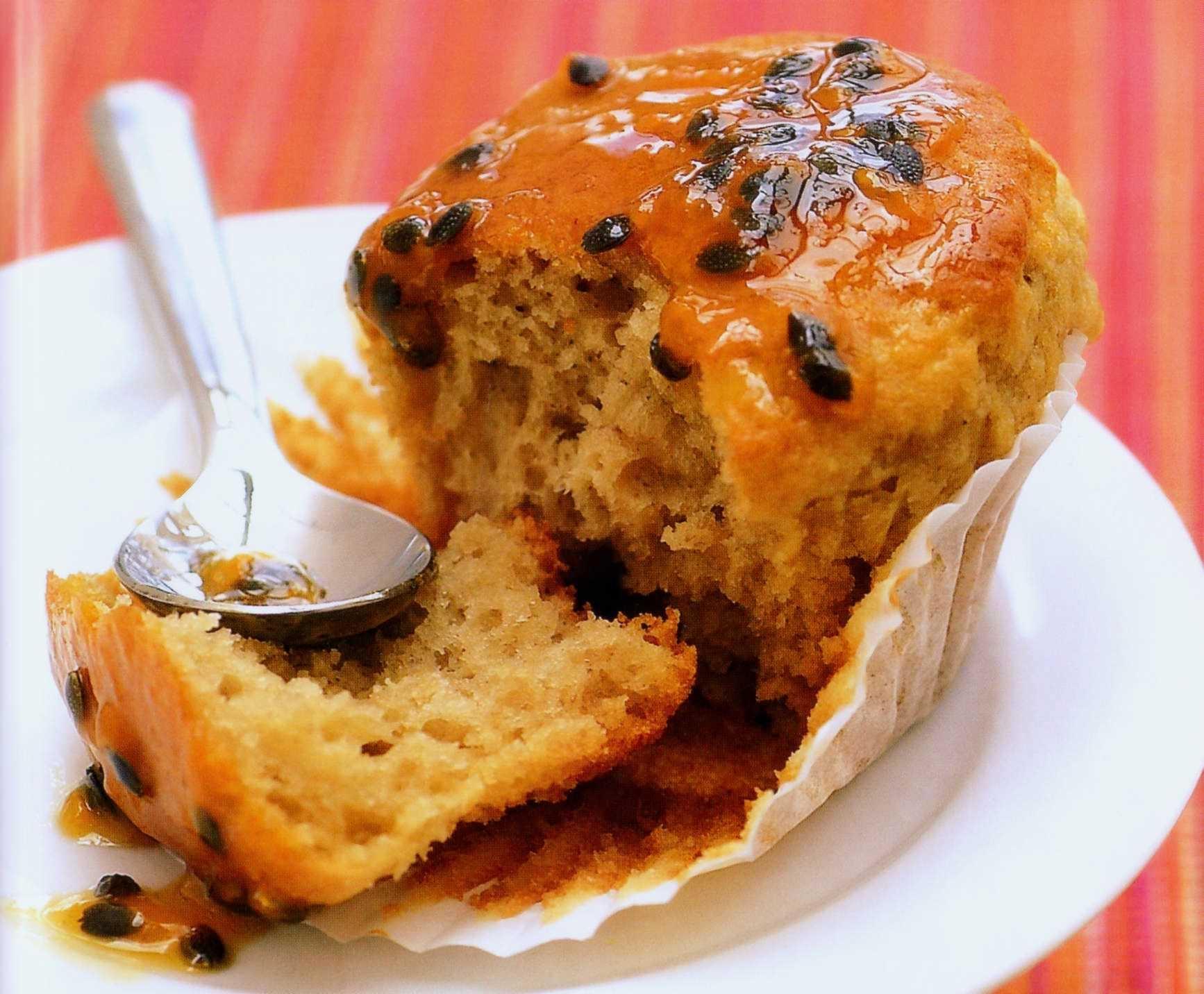 Tropiska muffin..