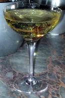 vaniljvodka och champagne