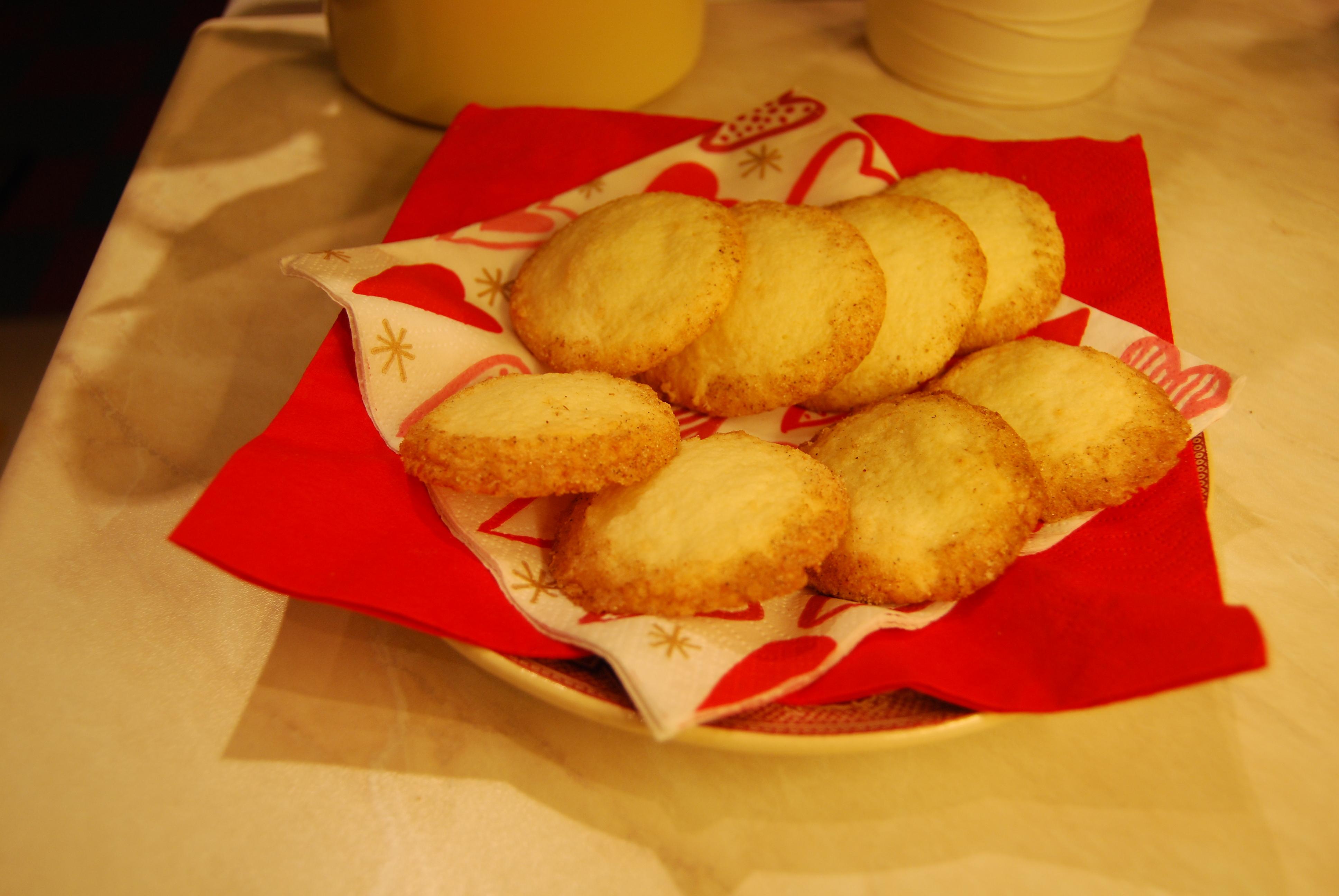 Mandelkakor med kardemumma (glutenfria)