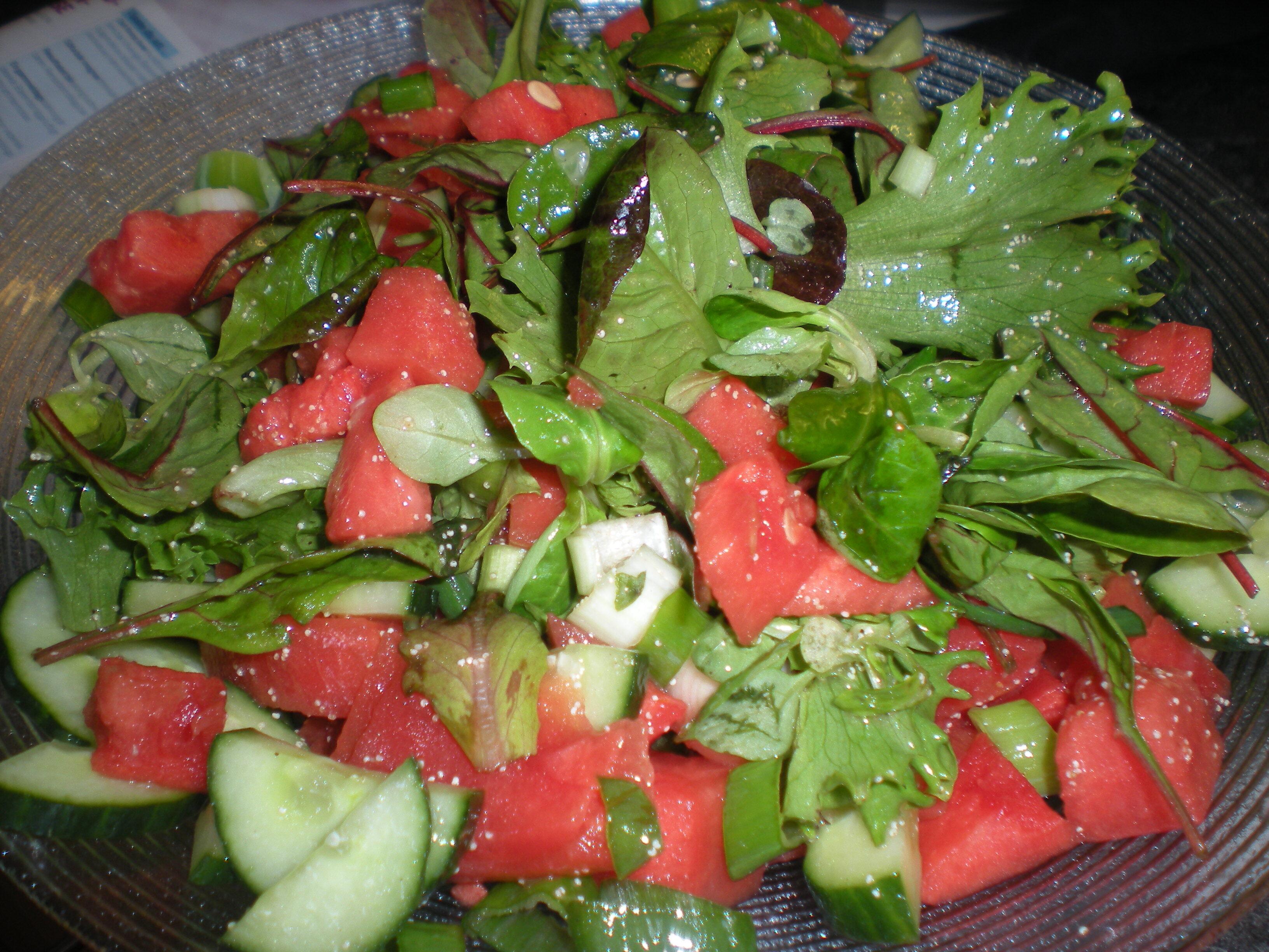 grillad melon