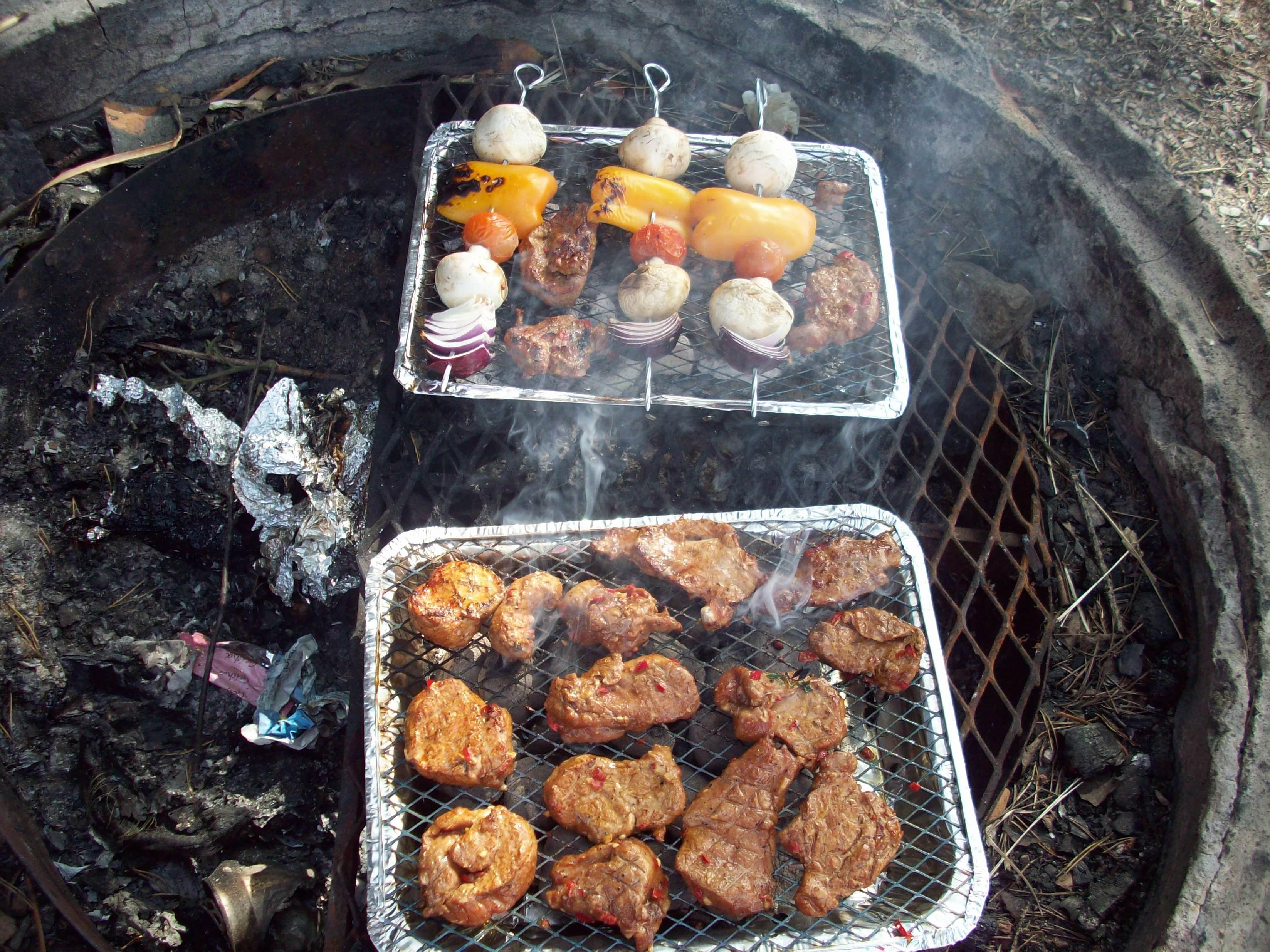 grillspett i ugn fläskfilé