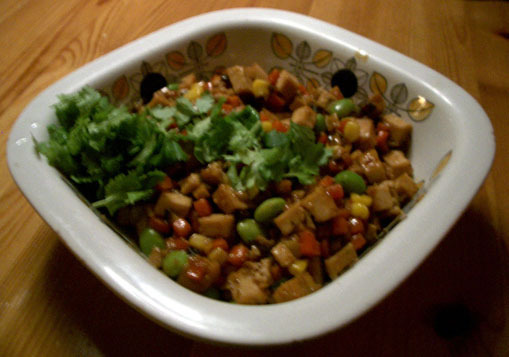tofu grön curry