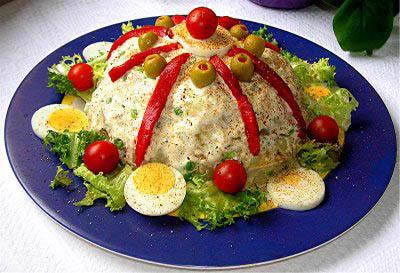 rysk sallad