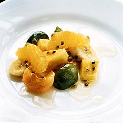 mangosås med glass