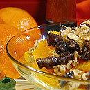 Apelsiner med dadlar och valnötter