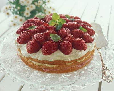 Sommartårta på mix