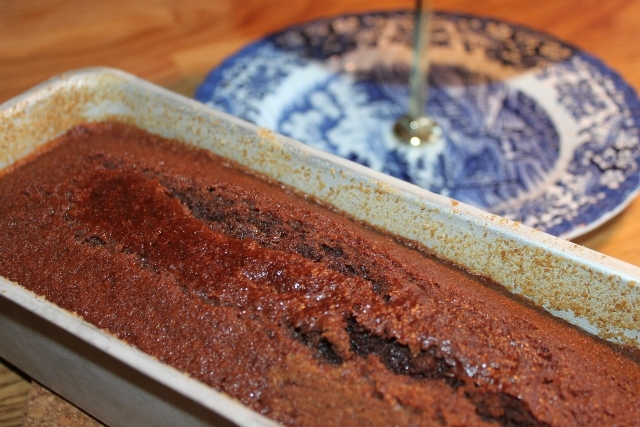 Enkel mjuk chokladkaka