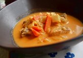 Fiskgryta med lime och sambal oelek