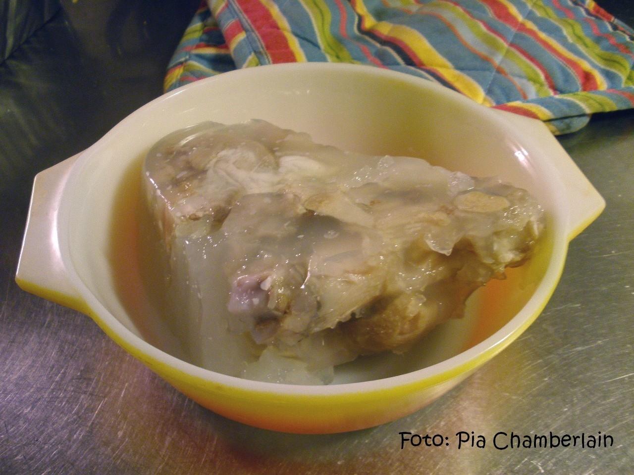 kokta grisfötter i gele