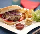 amerikansk hamburgare