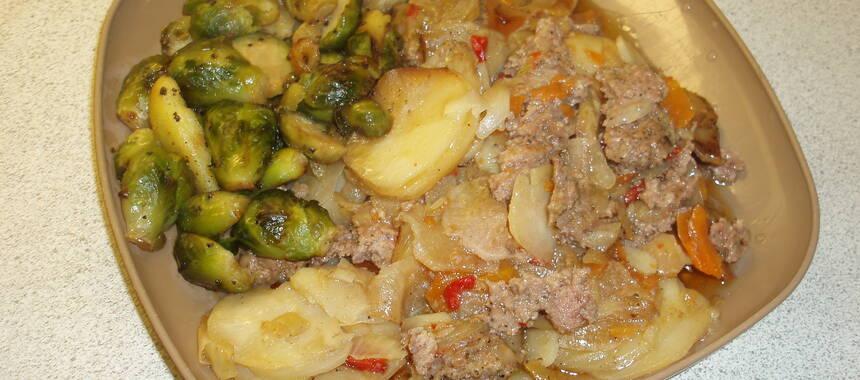 potatis i lergryta