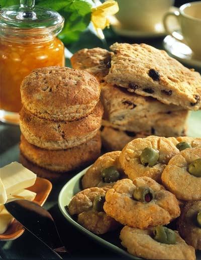 engelsk scones