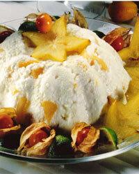 Mandarinparfait - diabetiker